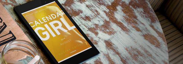 """Anmeldelse: """"Calendar girl: August"""" af Audrey Carlan - Bogfinken bogblog"""