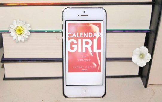 """""""Calendar girl: Oktober"""" af Audrey Carlan - boganmeldelse - Bogfinken bogblog"""