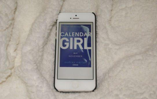 """""""Calendar girl: November"""" af Audrey Carlan - Bogfinken bogblog - boganmeldelse"""