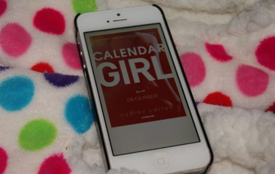 """""""Calendar girl: December"""" af Audrey Carlan - Bogfinken bogblog"""