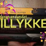 Vinderen af give-away #4 – bogpakke fra Modtryk