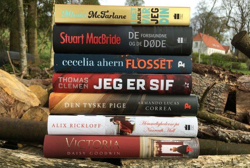 Nyt i stakken #8 - marts og april - Bogfinkens bogblog